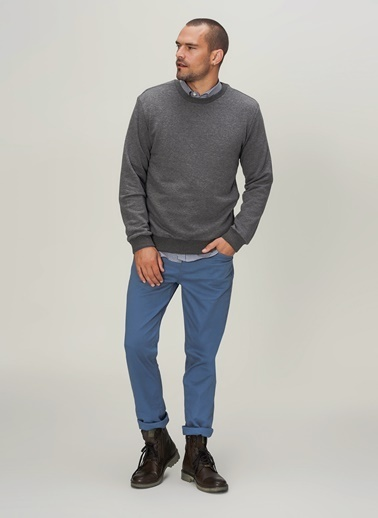 People By Fabrika Sweatshirt Antrasit